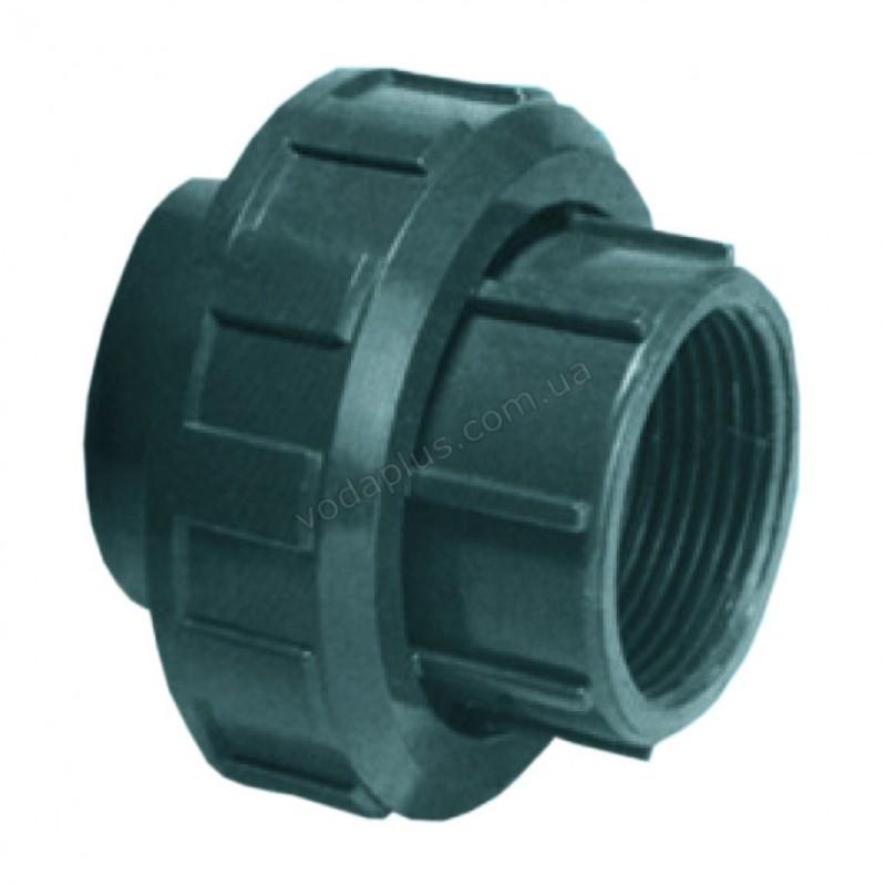 """Муфта разборная с внут. резьбой PVC Kripsol EH30 50.C, 50 мм х 1 1/2"""""""