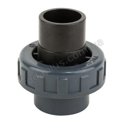 Муфта разборная клей-клей PVC Kripsol EHS10 63.C, 63 мм