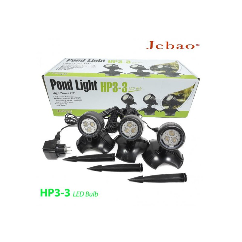 Светильник для пруда Jebao HP3-3