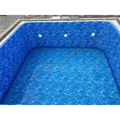 Лайнер для бассейна Cefil Darker Cyprus (голубой мрамор)