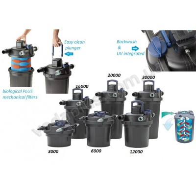Комплект фильтрации Oase FiltoClear Set 12000 для пруда