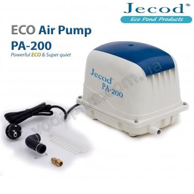 Компрессор для пруда Jecod PA-200, 200 л/мин