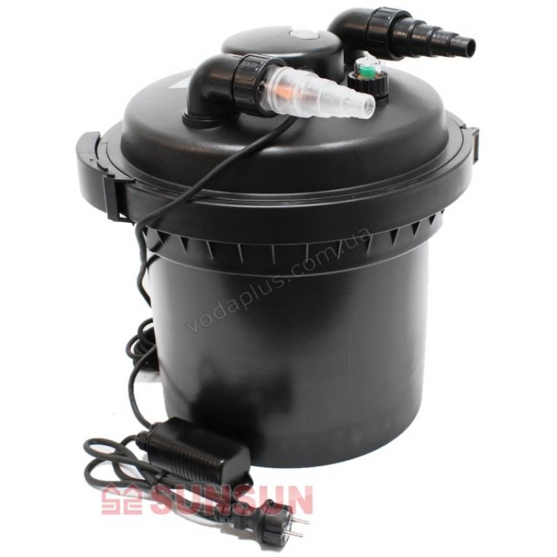 Напорный фильтр для пруда SunSun CPF-280 11W