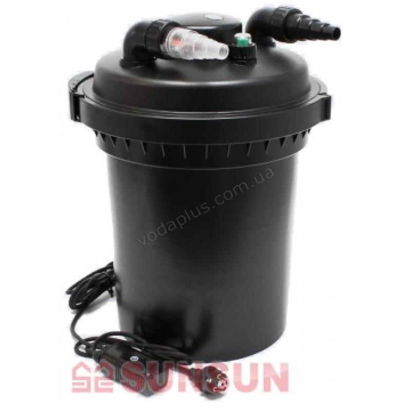 Напорный фильтр для пруда SunSun CPF-380 11W