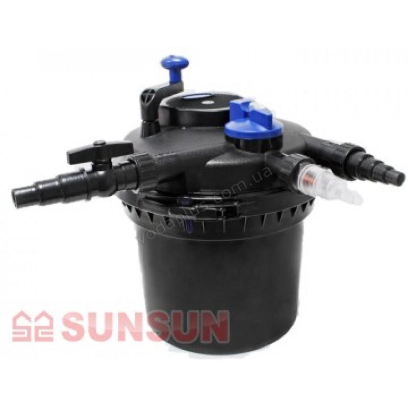 Напорный фильтр для пруда SunSun CPF-5000 11W