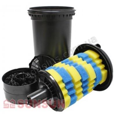 Напорный фильтр для пруда SunSun CPF-500 18W