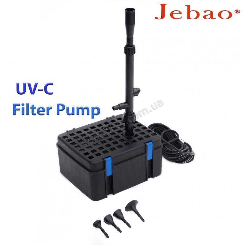 Подводный фильтр для пруда Jebao UFP-1000 UV 9W