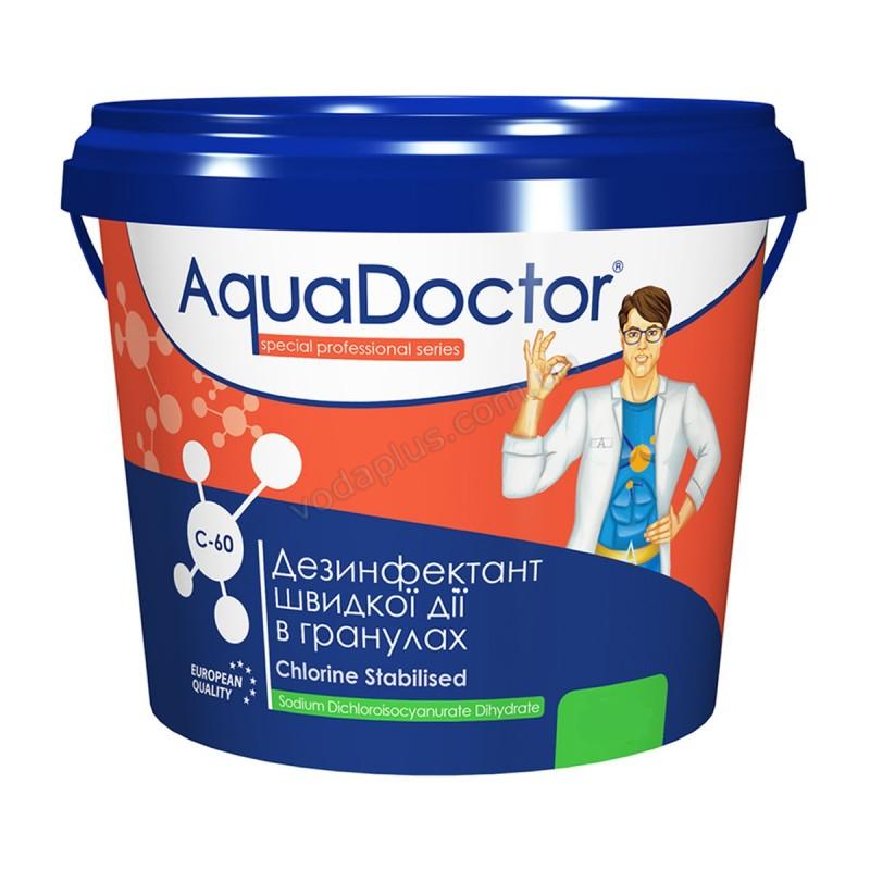 Шок хлор 50 кг AquaDoctor C60 (гранулы)