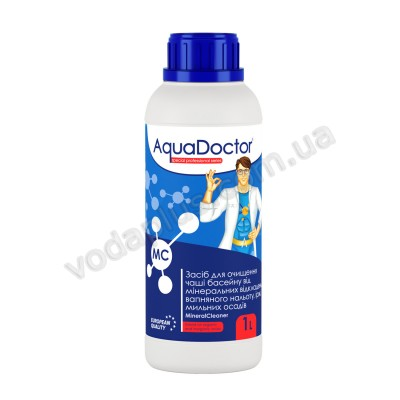 Средство для очистки чаши 1 л AquaDoctor MC MineralCleaner