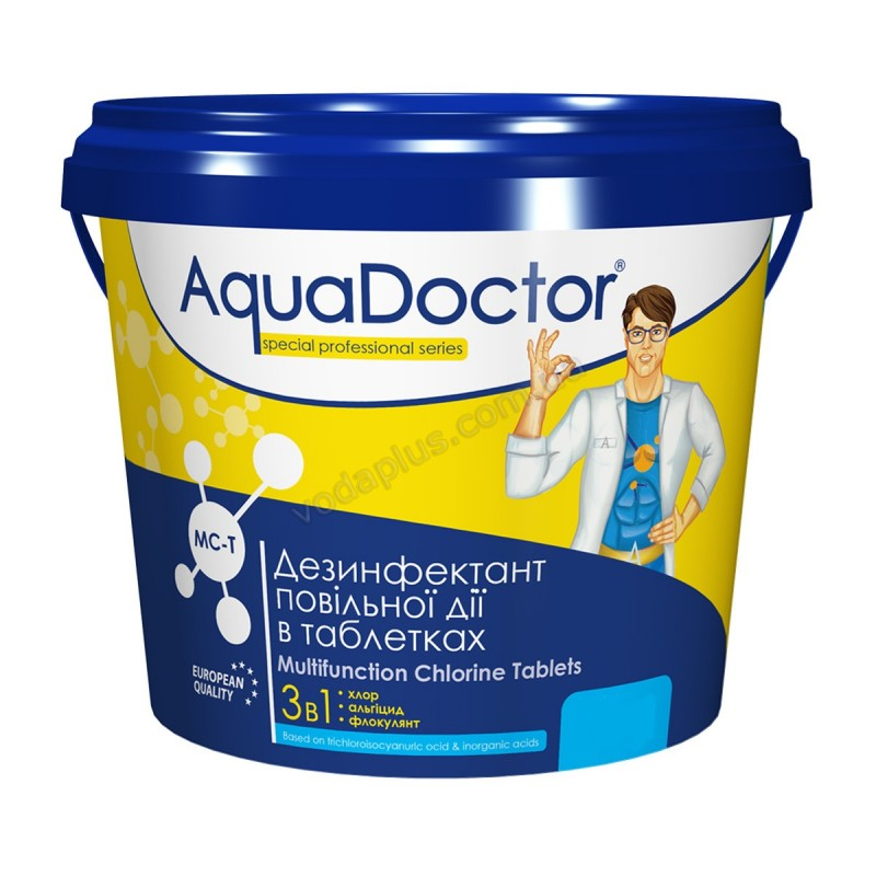 Мультитаб 3 в 1 5 кг AquaDoctor MC-T