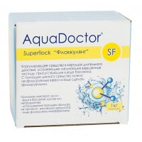 Коагулянт 1 кг-8 картушей AquaDoctor SF SuperFlock