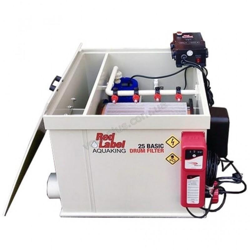 Барабанный фильтр для пруда (УЗВ) AquaKing Red Label Drum Filter 25 Basic 2