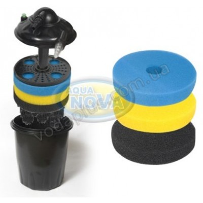 Напорный фильтр для пруда AquaNova NPF-30 11W