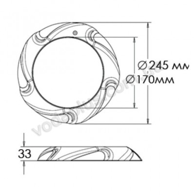 Прожектор светодиодный Aquaviva LED035 - 546led