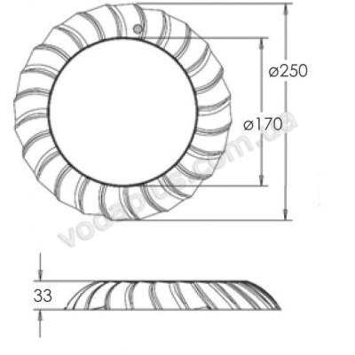 Прожектор светодиодный Aquaviva LED036 - 546led
