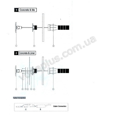 Прожектор светодиодный Aquaviva LED227D - 252LED RGB (защелка)