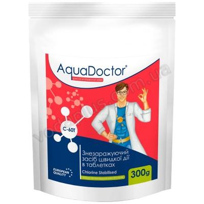 Шок хлор 0.3 кг AquaDoctor C-60Т (таблетки)