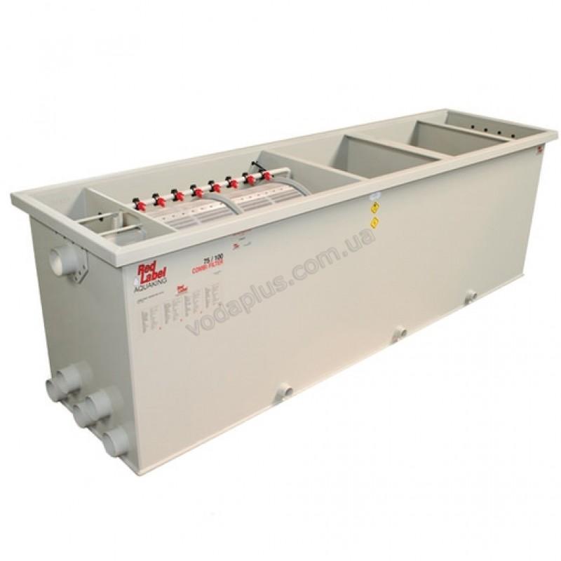 Комбинированный барабанный фильтр для пруда (УЗВ) Aquaking Red Label Combi Drum filter 75/100 XL