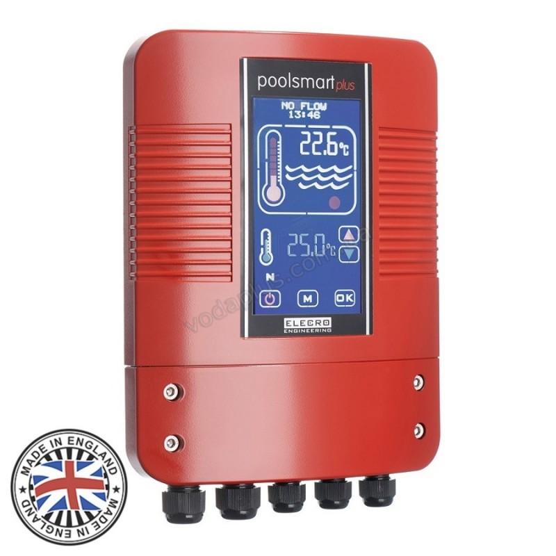 Цифровой контроллер Elecro Poolsmart Plus для теплообменников G2