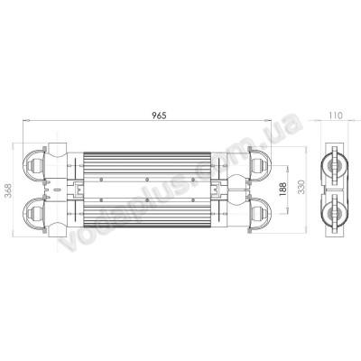 Ультрафиолетовая фотокаталитическая установка Quantum Q -130 Elecro