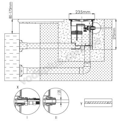 Автоматический регулятор уровня воды Emaux RO-7