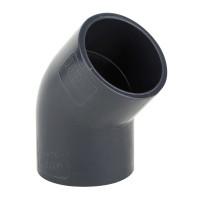 Колено PVC ERA 45°/63 мм.