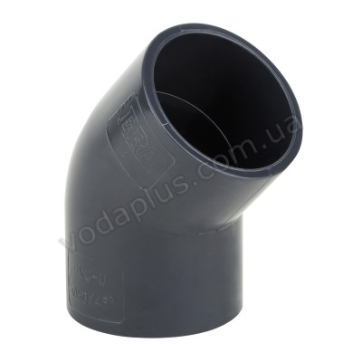 Колено PVC ERA 45°/32 мм.