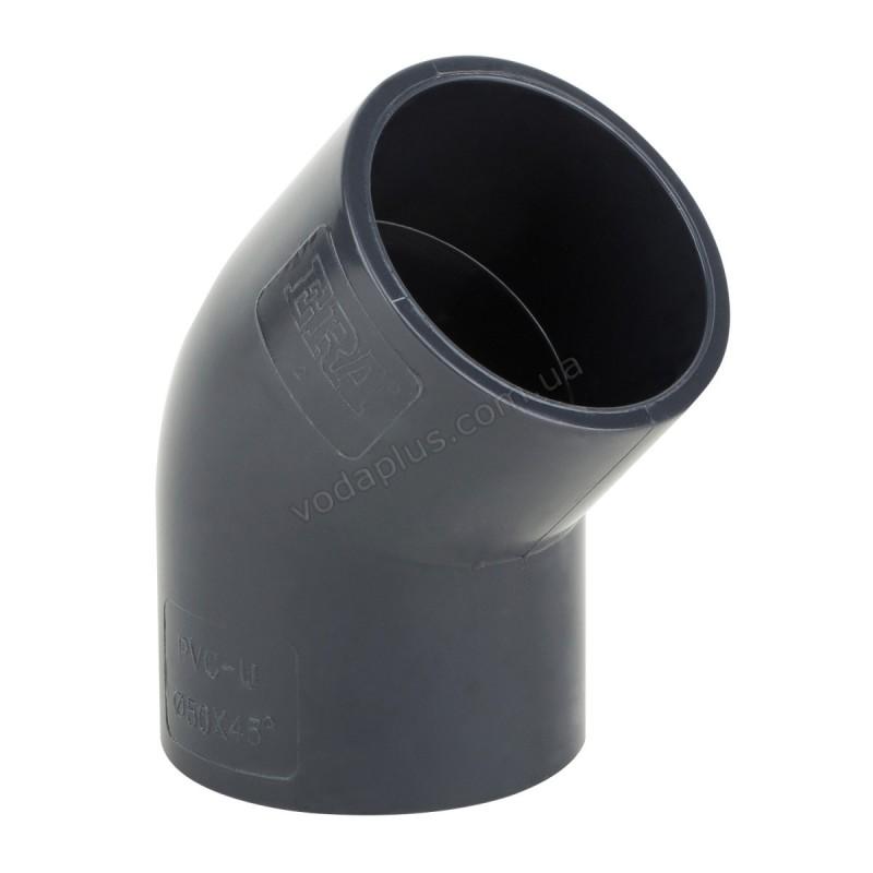Колено PVC ERA  45°/25 мм.