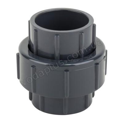 Муфта PVC ERA разборная клей-клей 90 мм