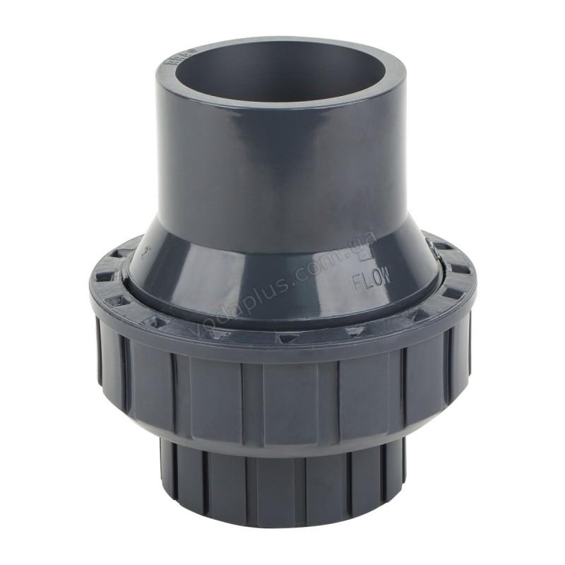 Обратный клапан PVC ERA пружинный 40 мм