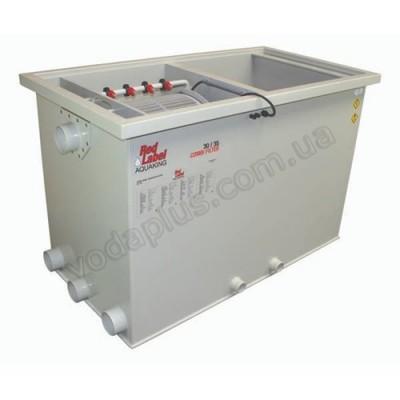 Комбинированный барабанный фильтр для пруда (УЗВ) Aquaking Red Label Combi Drum filter 30/35