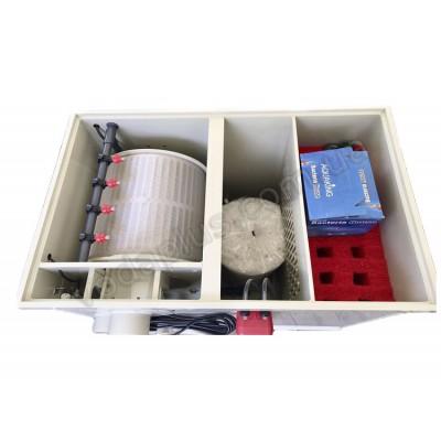 Комбинированный барабанный фильтр для пруда (УЗВ) AquaKing Red Label Combi Drum HAPPY