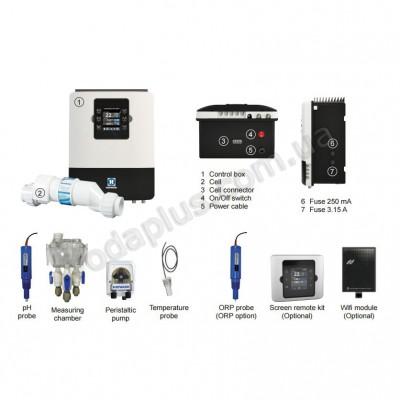 Станция контроля качества воды на 10 г/час Hayward Aquarite Plus T3E+Ph