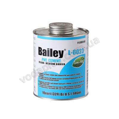 Клей для труб ПВХ Bailey L-6023 473мл