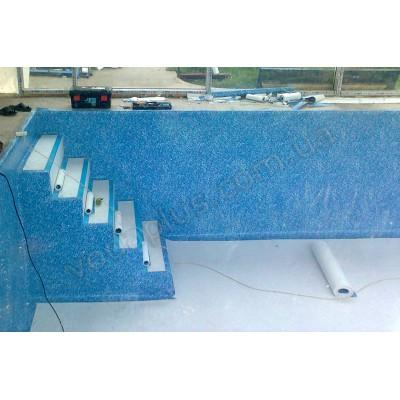 Лайнер для бассейна Elbeblue SBGD 160 SUPRA Marble blue (мрамор)