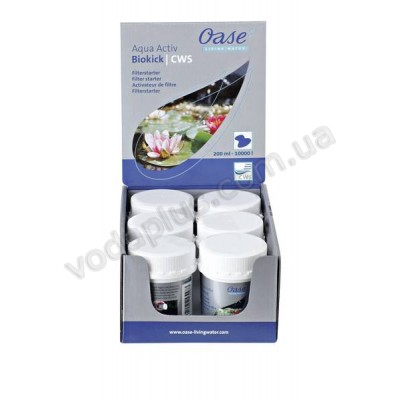 Стартер бактерий для систем фильтрации Oase BioKiсk CWS 200 ml