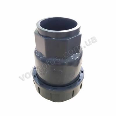 Обратный клапан PVC Kripsol VAR10 90.B, 90 мм