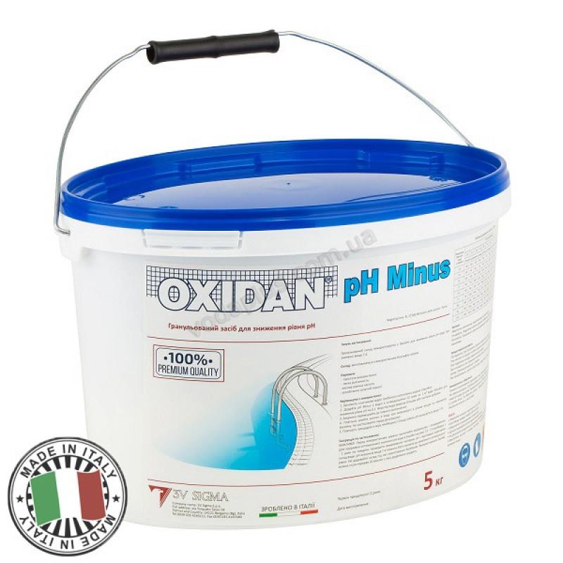 Средство для понижения уровня рН 5 кг OXIDAN pH Minus