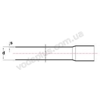 Труба PVC ERA 16АМ, 40 мм