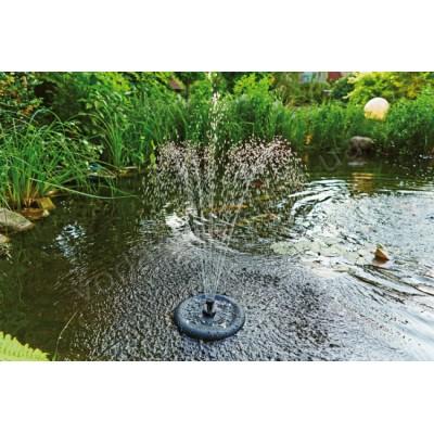 Плавающий фильтр-фонтан c подсветкой Pontec PondoClear Island 3000