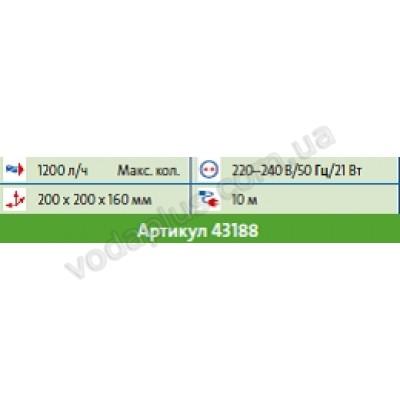 Аэратор-насос с подсветкой Pontec PondoAir set 1200 LED