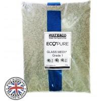 Стеклянный песок  Waterco EcoPure 0,5-1,0 (25 кг)