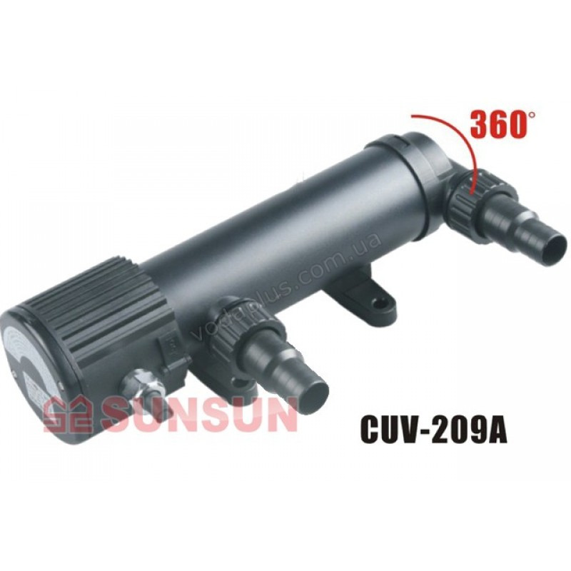 УФ-стерилизатор 9 Вт SunSun (Grech) CUV-209A