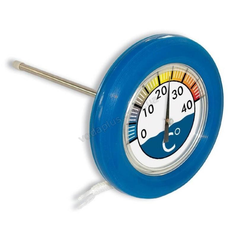 Термометр круглый плавающий 18.5 см