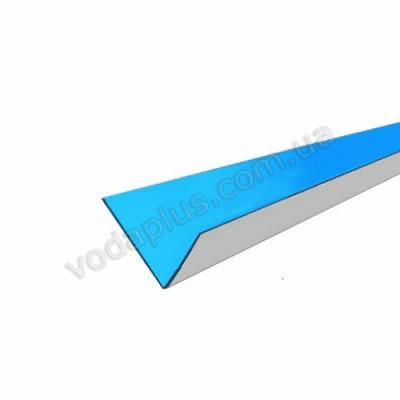 Металлический внутренний уголок с ПВХ напылением (цена за шт.)