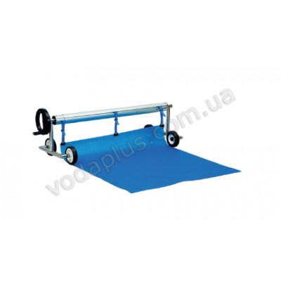 Ролета навивочная Vagner pool 3,7-5,4 м (мобильная) двухсторонняя